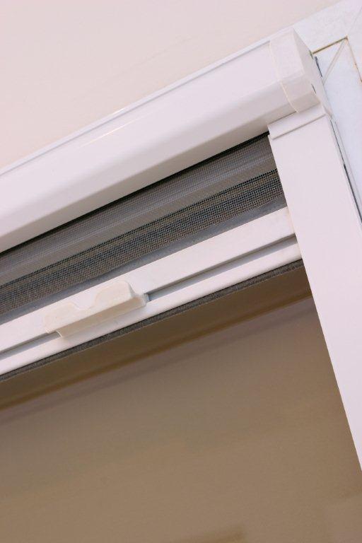 PERFECTA moskitiera ZWIJANA kasetka+listwa MOSKITIERY (siatki przeciw owadom)