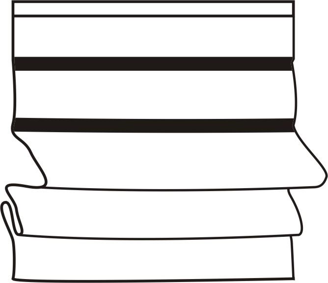 schemat typ b Rolety rzymskie ( Zasłony rzymskie )